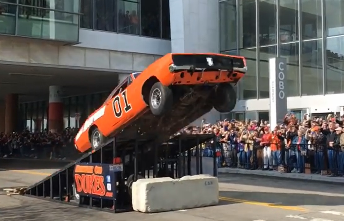 Watch The General Lee Soar Through The Air In