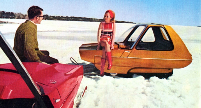 Blog Post | Vintage Snowmobiles Designed to Kill You | Car ...