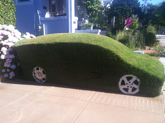 My car is greener than your car! (Richard Howard Photo)