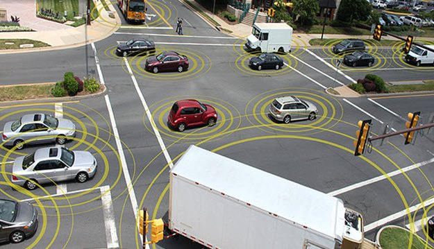 The U.S. government is starting to look at how connected cars will work. (U.S. DOT photo)