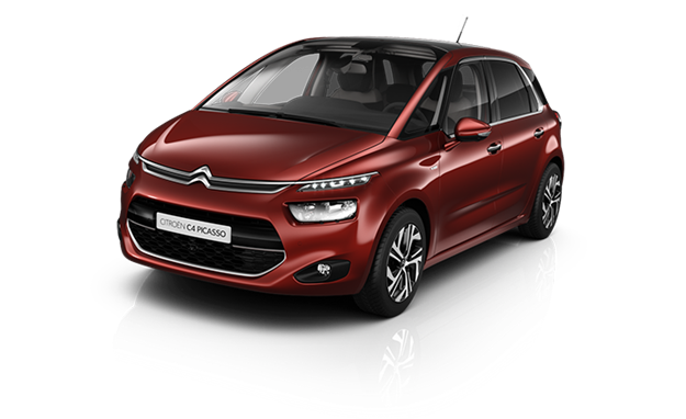 The Citroen C4 Picasso isn't seen in America, but there's a certain resemblance to the Ford C-Max. Could the new Microbus look like this? (Citroen photo)