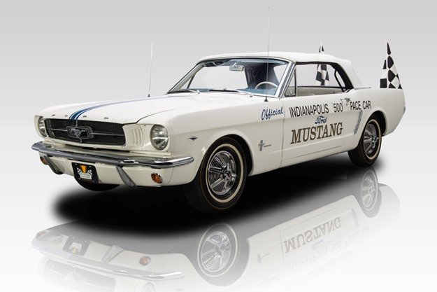 The Mustang Pace Car was built in the first hour of production in '64. (photo courtesy of eBay)