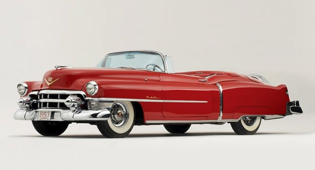 The '53 Cadillac Eldorado was a pioneer of the wraparound windshield.