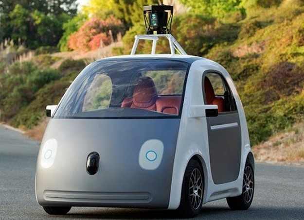 What can the tech companies learn from the Big Three? For starters, how to avoid designing a car that looks like this. (Google photo)
