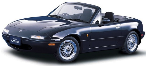 I've coveted a Miata forever. Can I buy myself a toy? No? (Mazda photo)