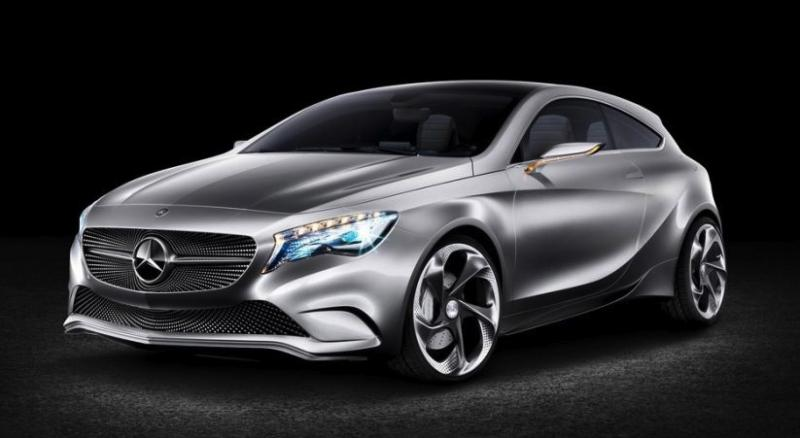 The concept version of the new A-Class, which is a possibility for the U.S. (Mercedes photo)