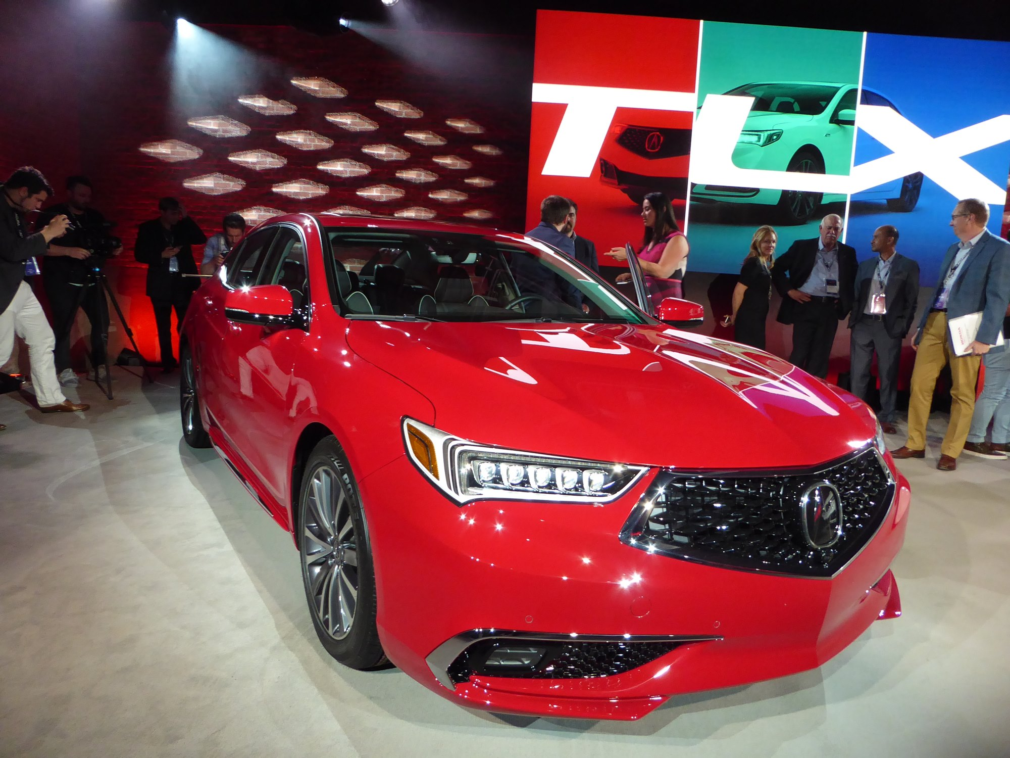 The Acura Tlx And Its New Snout Jim Motavalli Photo