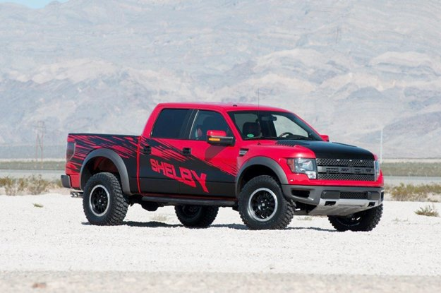 This Shelby Raptor started life as a Ford F150 truck, America's most popular vehicle. (Shelby American photo)