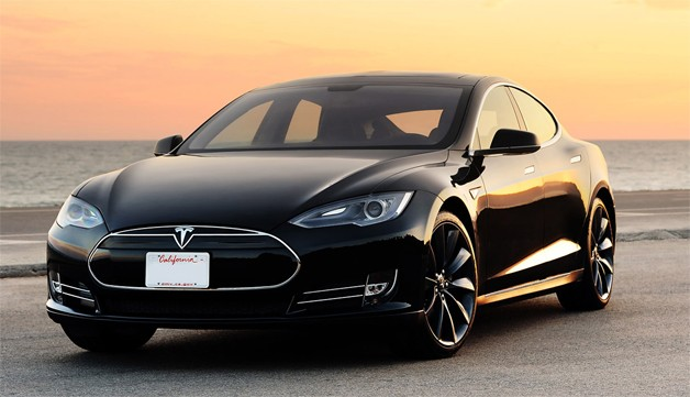 The Model S: Exonerated by the feds. (Tesla photo)
