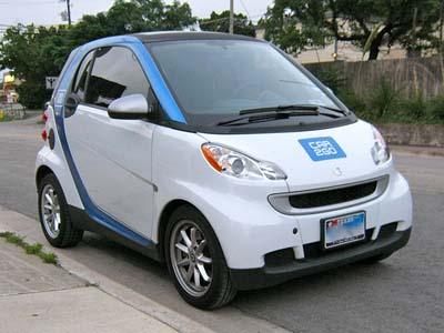 "Car2Go is putting Smart ""micro-hybrids"" on the road in Europe and the U.S. (Flickr photo/Angry Stan)"
