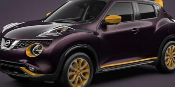 Nissan Juke paint options