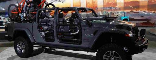 Jeep Gladiator at the 2018 Los Angeles Auto Show