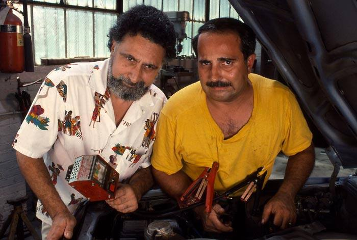 Proving that a little bit of knowledge is a dangerous thing, Tom and Ray know that jumper cables have to attach to something! (Car Talk Photo)