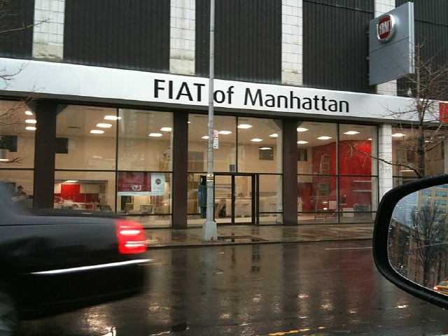The very Fiat shop in this tale.