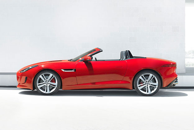 2014 Jaguar F-Type: Not beautiful like an E-Type... But it's still pretty cool. (Jaguar photo)
