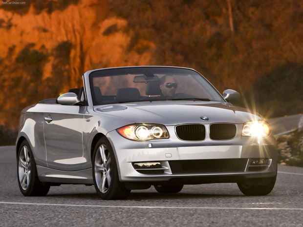 BMW's 128i convertible is hot stuff for the Mario Andretti in me. (BMW photo)