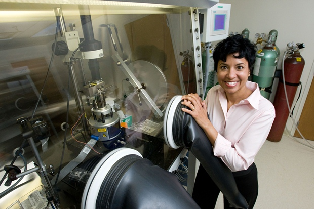 Ann Marie Sastry of Sakti3: Another solid-state battery pioneer. (University of Michigan photo)
