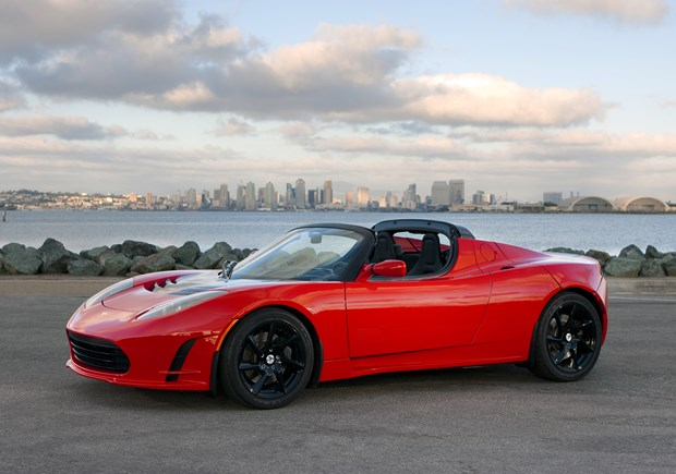 The Tesla Roadster: Want a bargain from this company? Find one of these as a used car. (Tesla Motors photo)