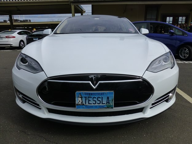The Tesla Model S is a bestseller in Norway, Holland and California. (Jim Motavalli photo)