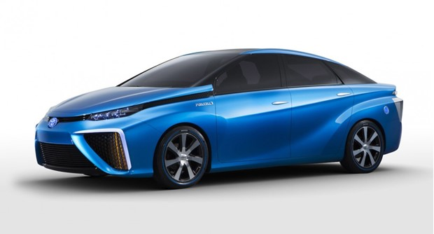 Toyota is showing the FCV Concept at CES this year--and plans to put something very similar on the road by 2015. (Toyota photo)