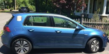 Review of the 2016 Volkswagen e-Golf